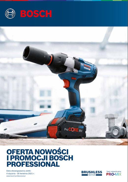 Katalog nowości Bosch Professional